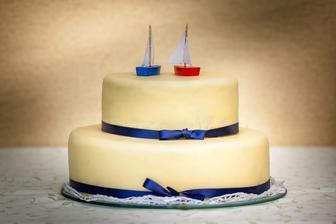 dort od manželovy tety, s pravým marcipánem