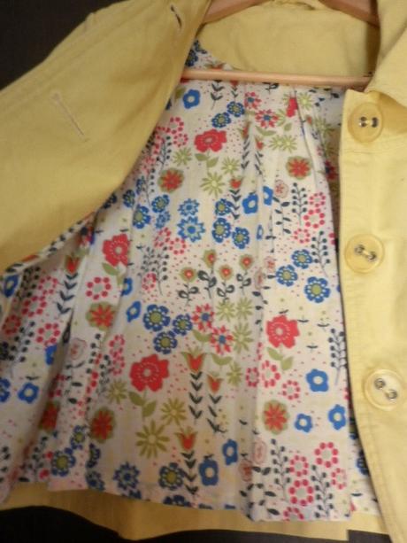 veselý žlutý kabátek sako - Obrázek č. 3