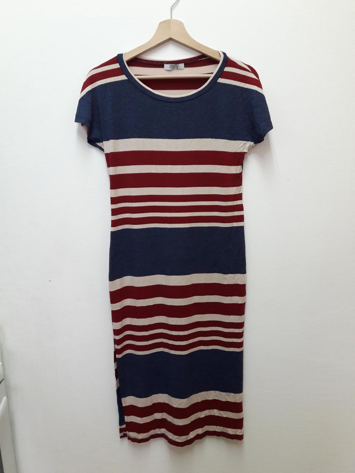 Pruhované námořnické šaty - Obrázek č. 1