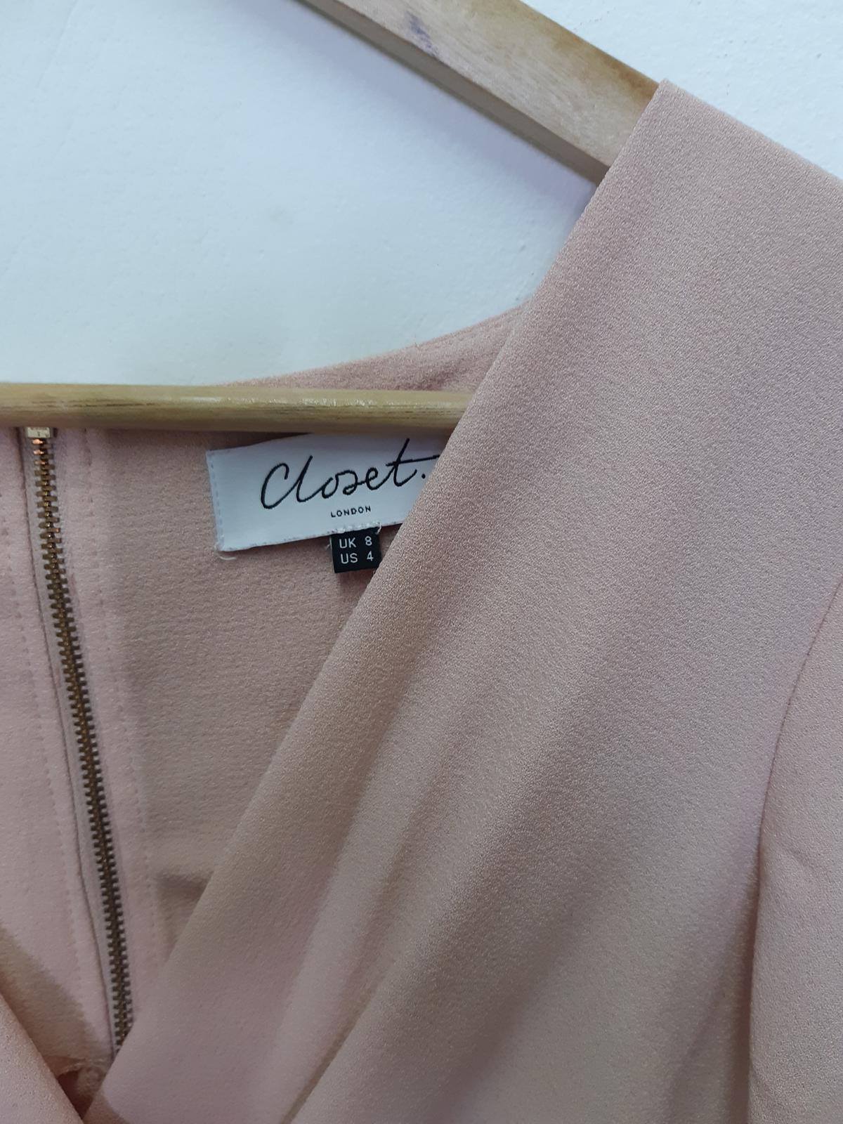 pudrově růžové šaty Closet - Obrázek č. 3