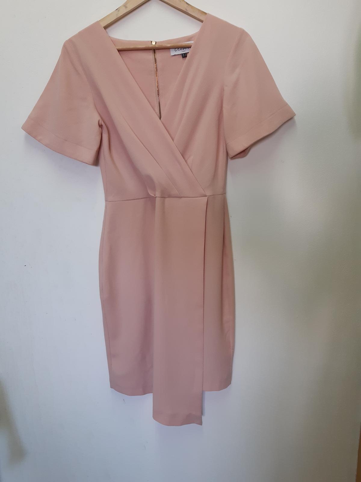 pudrově růžové šaty Closet - Obrázek č. 4