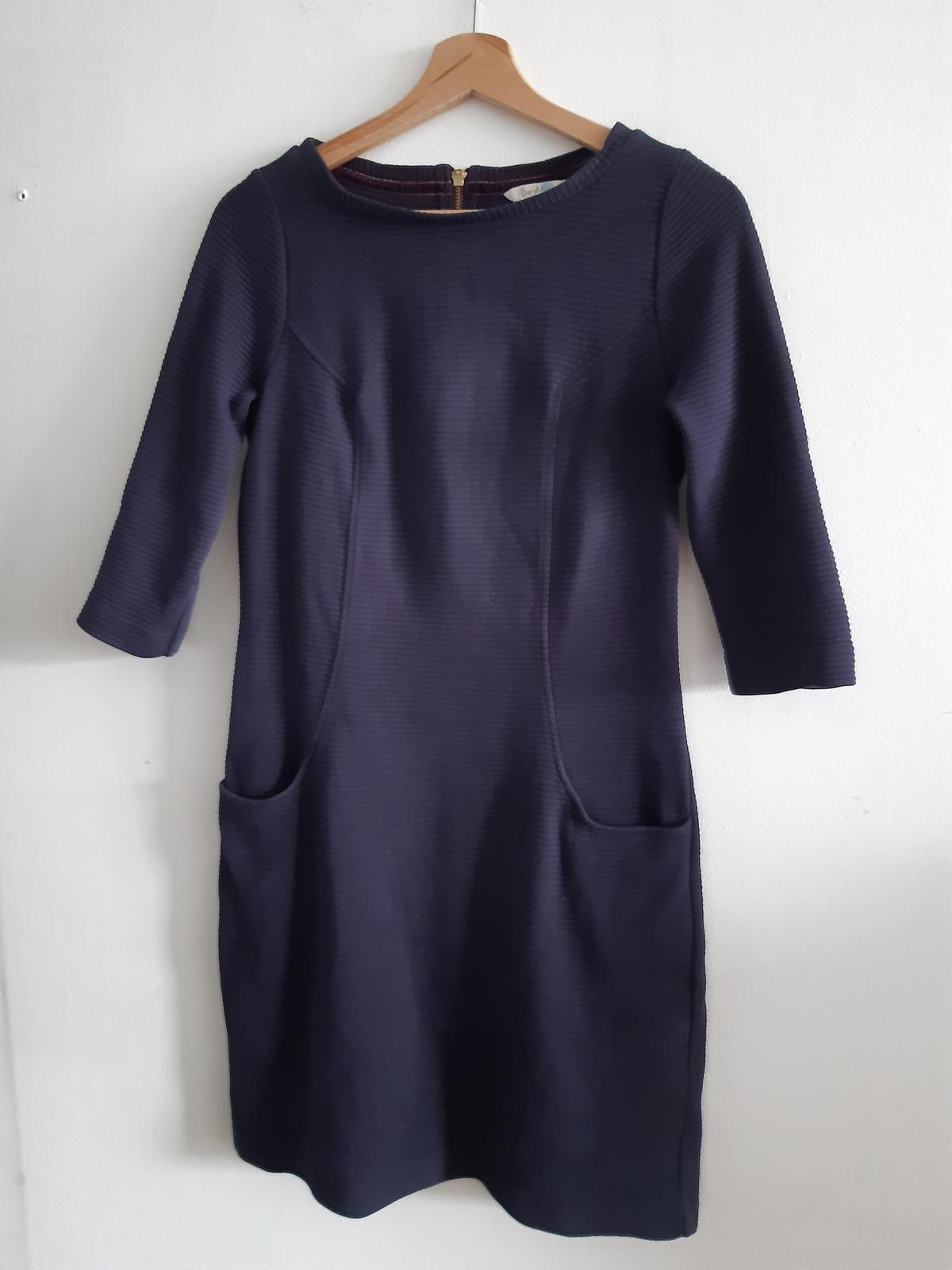 bavlněné modré šaty Boden - Obrázek č. 1