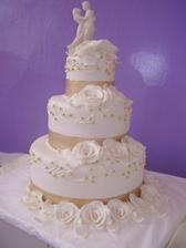 Moja vybrata torta na svadbu