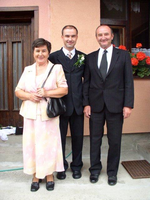 Janka Medvidova{{_AND_}}Slauko Žilecký - rodinne foto