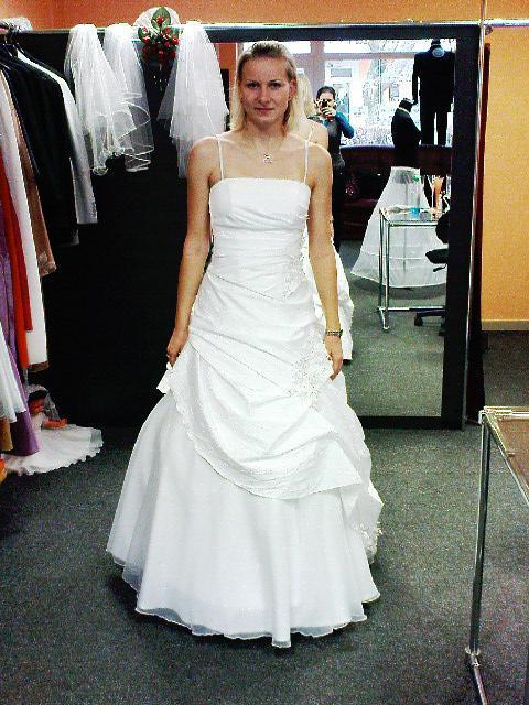 Prípravy - ...prvé skúšané šaty