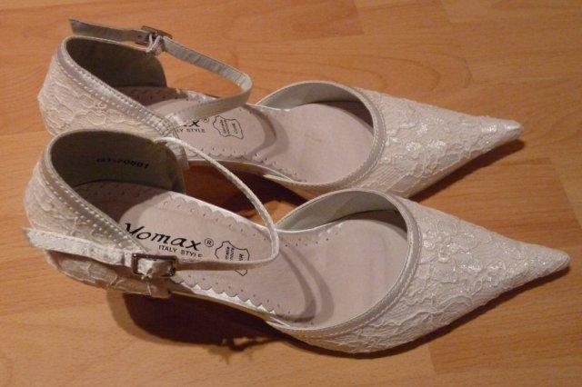 Prípravy - Svadobné topánočky