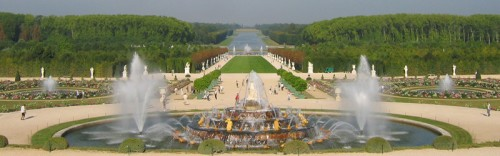 tady mě můj miláček požádal o ruku - Francie - Versailles