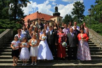 my a naši svatebčané