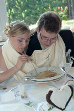 Když by jsme tu polívku jedli mocca lžící, tak jsme tam snad ještě teď, tak jsme to vyřešili po svém :o))