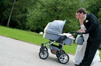 Snad se časem usměje štěstí i na nás a budeme vozit kočárek se svým miminkem
