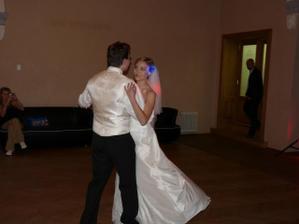 část novomanželkého tance