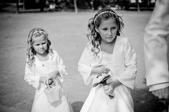 Naše družičky Gábinka a Domča, princezničky