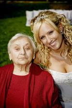 Moje milovaná babička, už je bohužel v nebíčku, moc mi chybí :-(