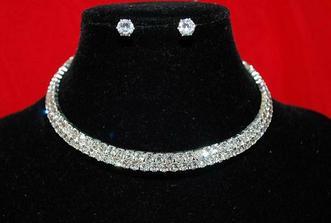 náhrdelník + naušničky