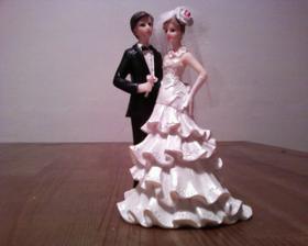 figurka na dortík - vybíral ženich :-)