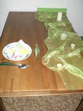 takto nějak budou vypadat stoly :-)