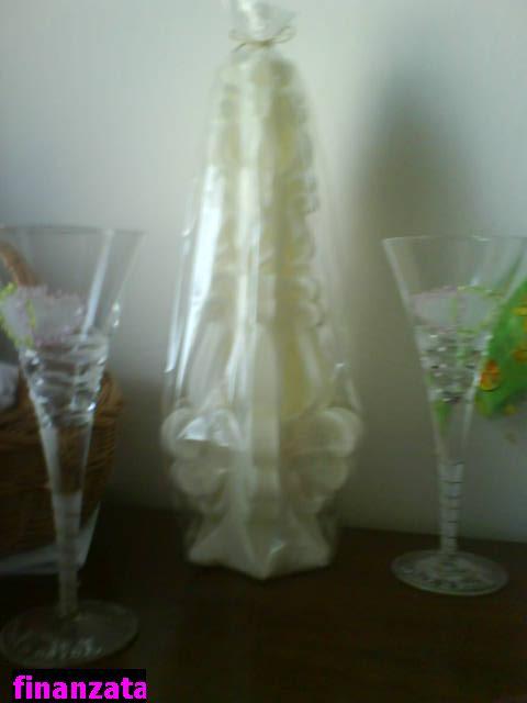 K & M - túto sviečku som dostala na krstiny :), moje