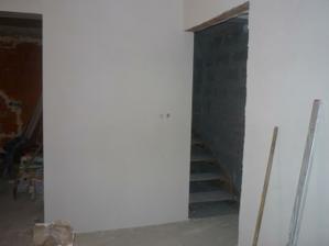 ešte provizorne schody