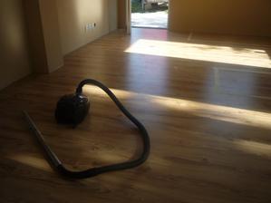 podlaha v obývačke