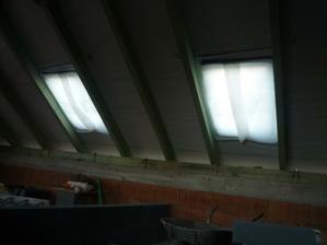strešné okná založené