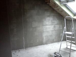 osieťkované steny