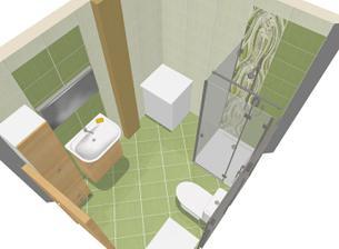 takto bude vyzerať kúpelňa na prízemí