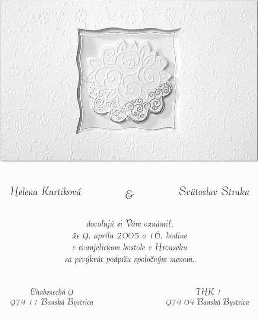Pripravy svadby - helen - Hotove a rozoslane. :-)