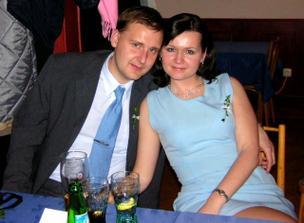 Na kamarádčině svatbě - Listopad 2005