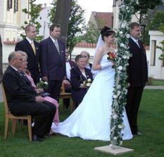 Soustředění snoubenci.