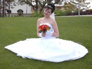 Princezna v trávě :o)