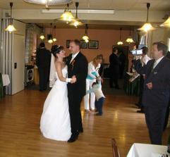 Tanec za odměnu, když mě manžel našel.