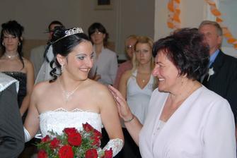 rozlúčka s maminkou...mala som vlastné poďakovanie a zabralo to