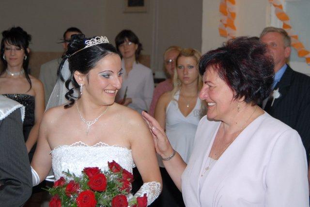 Dadka Csalová{{_AND_}}Viktor Csóri - rozlúčka s maminkou...mala som vlastné poďakovanie a zabralo to