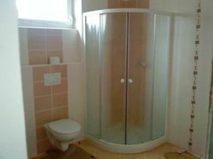 Koupelna - WC a sprcháč