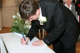 Podpis manžela :-)