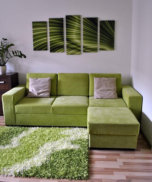 Náš byt začíná mít reálnou podobu - obývací kuchyň - Taky hezká, jen nevím od koho...prosím poraďte