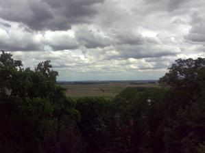 Výhled z terasy zámku