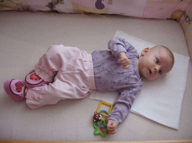 Kristina Puváková{{_AND_}}Michal Čurka - nasa dcera Nela ma uz 4 mesiace...