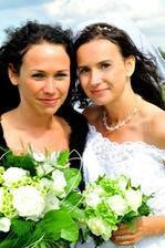 já s Evičkou - mojí svědkyní :-))))