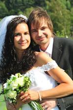 my a svatební kytička...