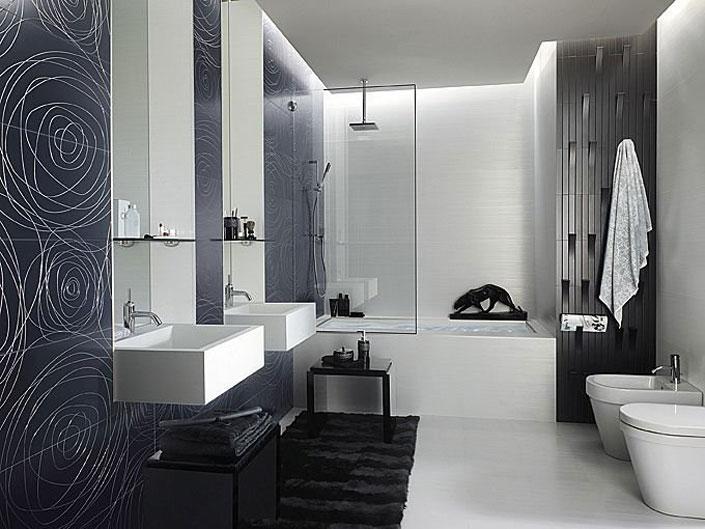 Kúpelne - všetko čo sa mi podarilo nazbierať počas vyberania - tento obklad je môj sen, ale lotto nepadlo... :-D