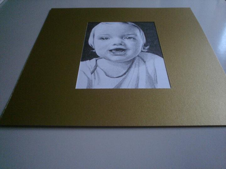 Portréty z fotiek - Rebečka