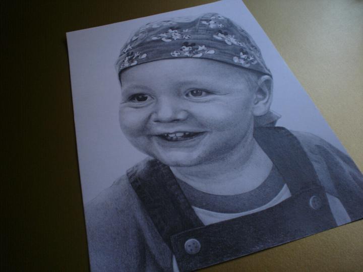 Portréty z fotiek - Adamko