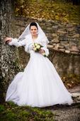 Svadobné šaty pre princeznú 34-36, 36