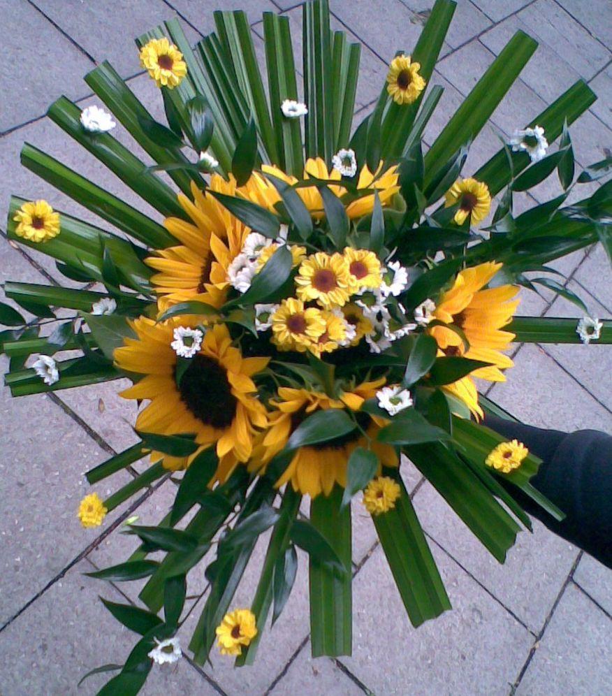 Kytice - hlavne slnečnice - Obrázok č. 2