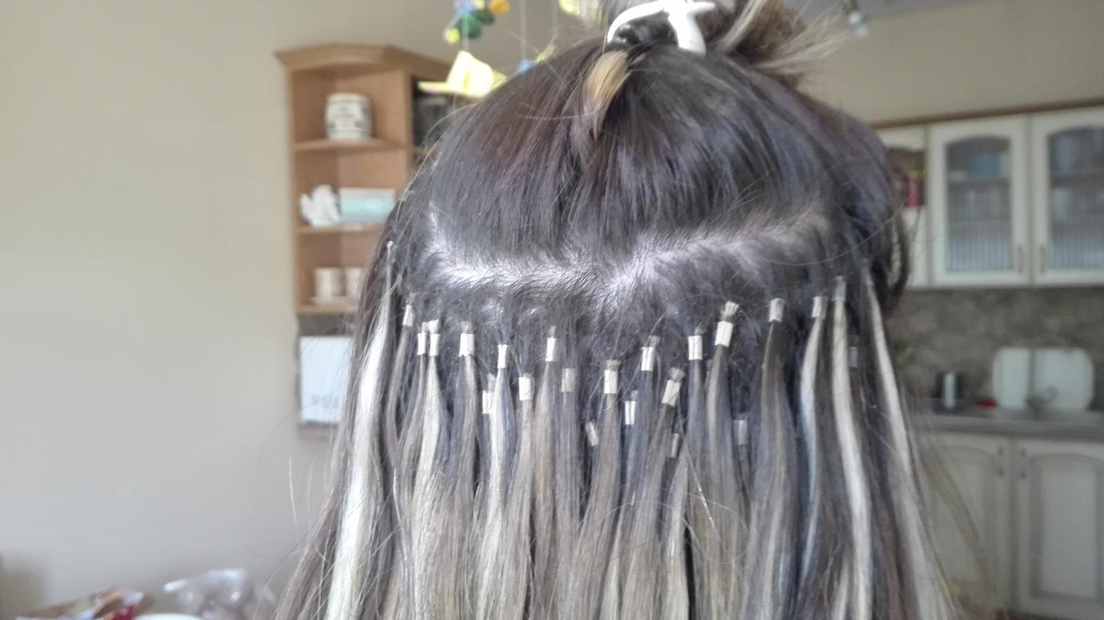 Predlžovanie vlasov. Povedzte plusy a mínusy - - ... - str. 14 dfa32828ee2