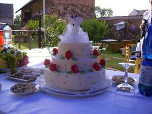 náš vynikající dortík