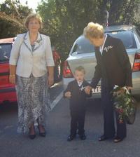 Moje mamka Květa, syn Dorian a babka Drahuška