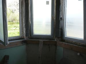 šalung na okna sama som robila..:-)