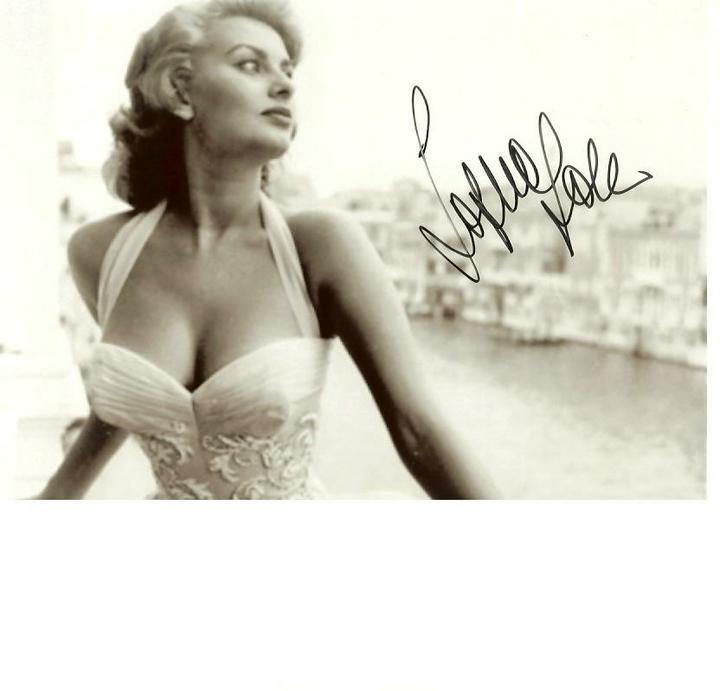 ♥ - Sophia Loren